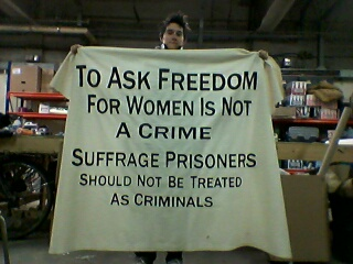Ask for Freedom, Anna 'banner' Thomas